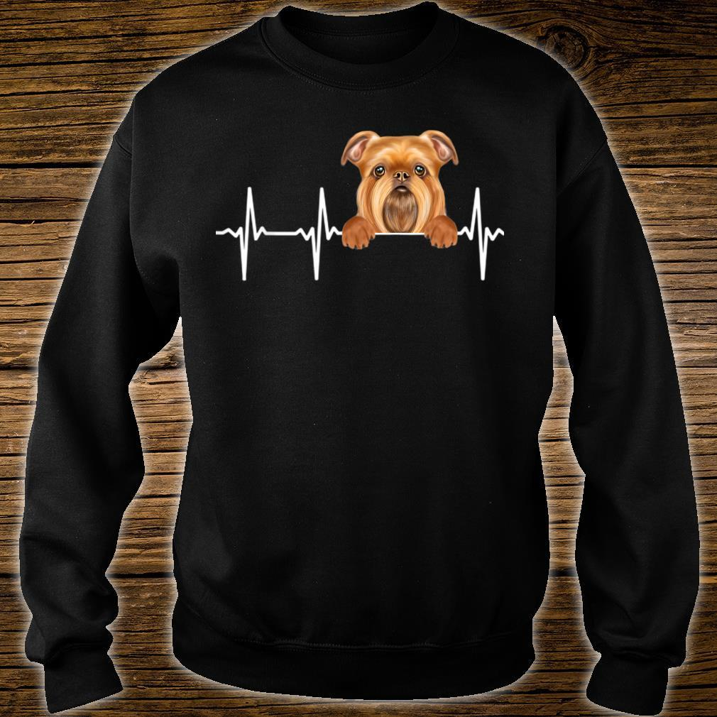 Funny Dog Heartbeat For Brussels Griffons Shirt sweater