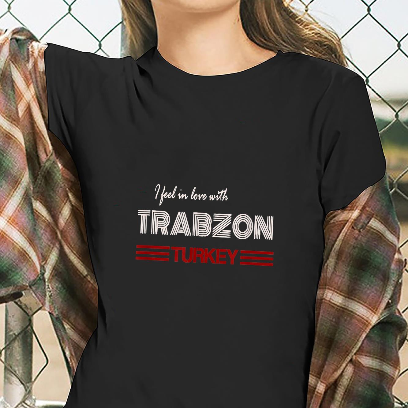 TShirt with Turkey Trabzon Design Ich Feel Mich in Trabzon in Love Shirt ladies tee