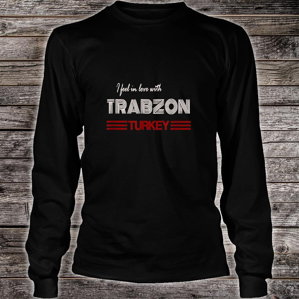 TShirt with Turkey Trabzon Design Ich Feel Mich in Trabzon in Love Shirt long sleeved
