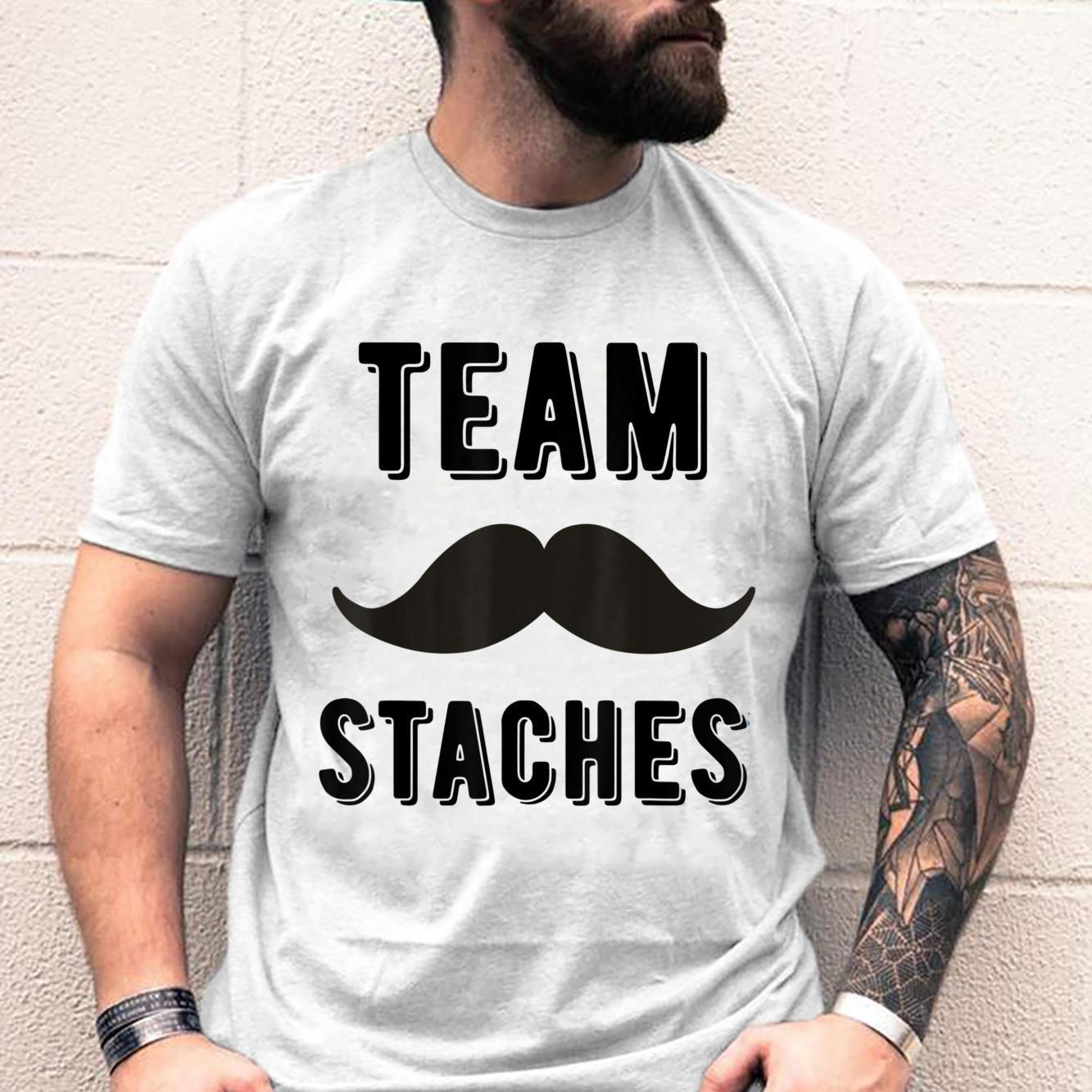 Team staches gender reveal party idea Shirt